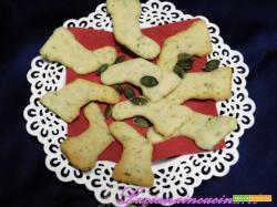 Biscotti per natale da regalare