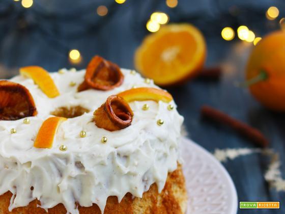 Chiffon Cake natalizia arancia e cannella