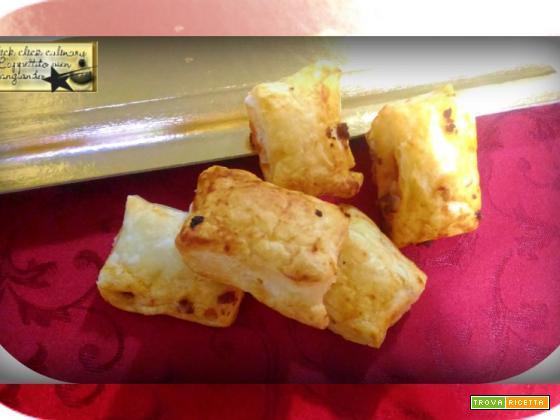Pasta Sfoglia al Ragù Finger Food
