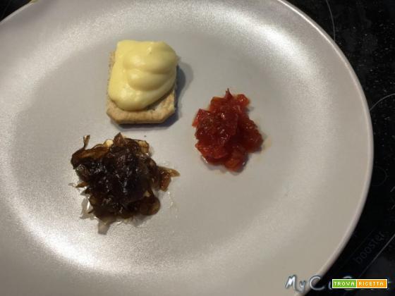 Crema al parmigiano per tartellette e vol-au-vent fatta con Cuisine, i-Companion e XL Moulinex