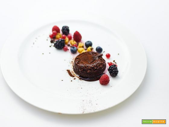 fondente caldo al cioccolato