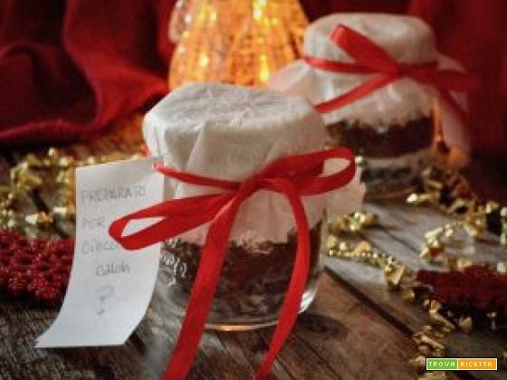 Preparato per cioccolata calda da regalare