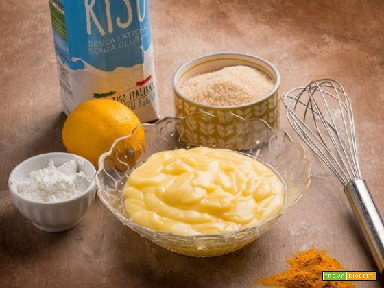 Crema pasticcera vegan al limone: più leggera ma tanto buona