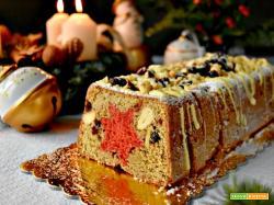 Plumcake natalizio con frutta secca