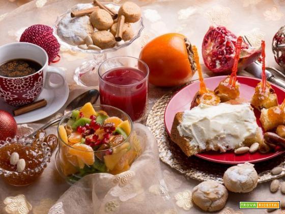 A casa mia non puo' mancare una perfetta colazione natalizia
