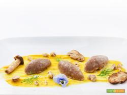 gnocchi di castagne con salsa all'anice stellato