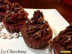 Cupecakes con pere e cioccolato