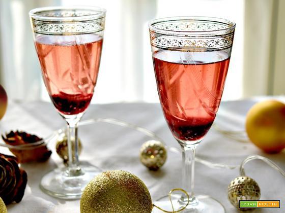 Jam and prosecco Cocktail, facile e veloce