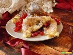 Come riciclare il pandoro: Toast dolci al Camembert