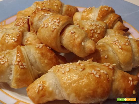 Mini Croissant allo speck | Ricetta