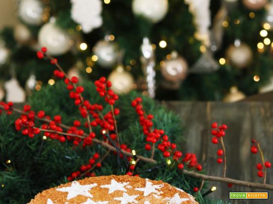 Fluffosa natalizia zenzero, limone e cannella