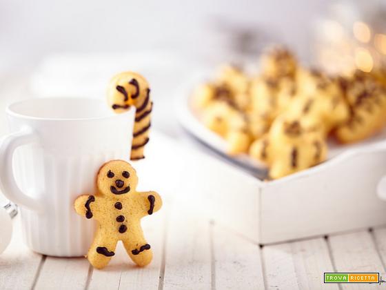 Gingerbread man a modo mio: le madeleine