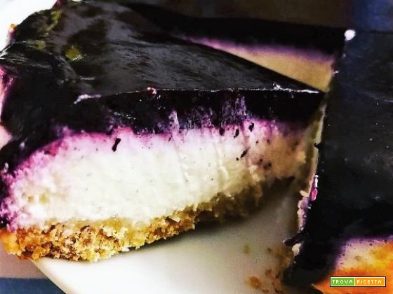 BLUEBERRIES CHEESCAKE