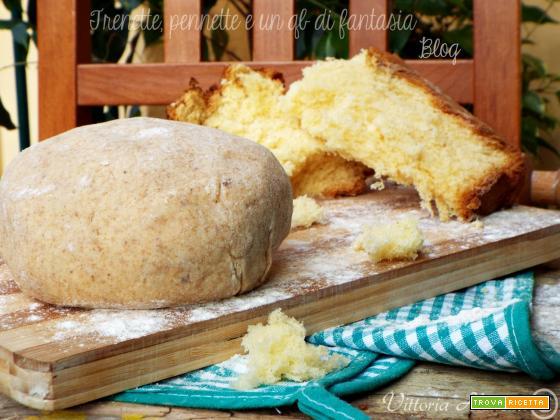 Pasta frolla al pandoro