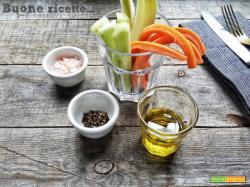Come fare il pinzimonio di verdure