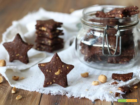 Frollini veggie cacao nocciole e arance amare