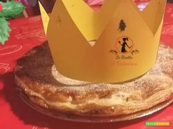 Gallette des Rois, dolce francese dell'epifania, o Pithiviers