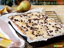 Crostata con frolla al pandoro e pere