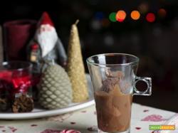 Merenda con la Befana: gelato affogato nella cioccolata calda
