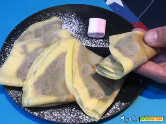 Impasto per crepes o crespelle sia salate che dolci con il Companion e il Volupta Moulinex