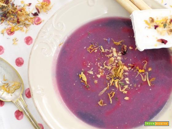 Purple Cabbagge Soup (Crema di Cavolo Viola)