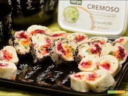Sushi fake con cremoso di Verys e Panpiuma