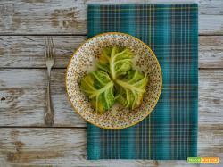 Involtini di verza con ripieno dolce salato