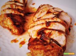 Tagliata di pollo alla paprika