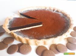 Crostata MORETTA, ripieno morbido cioccolatoso