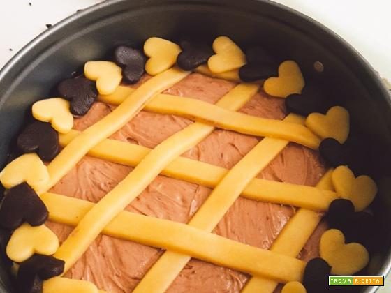 Crostata NUTELLA e MASCARPONE, cos cremosa da fare il bis