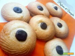 OCCHI di BUE, biscottini friabilissimi per l'ora del the