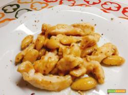 POLLO alle MANDORLE con salsa di soia