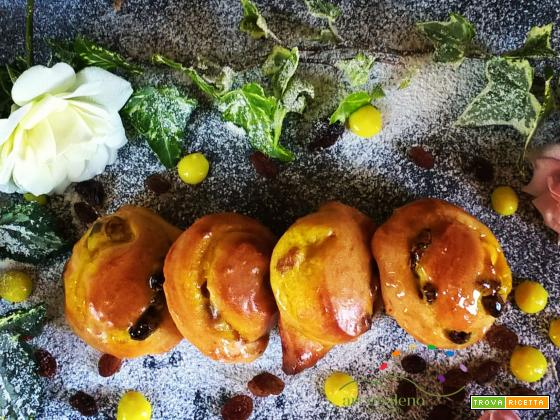 Come fare le girelle Vegan con uvetta e crema