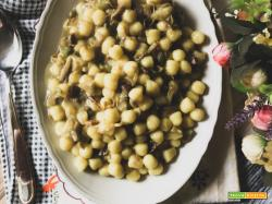 Gnocchi con carciofi e patate