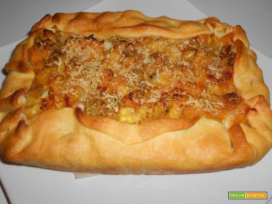 Tortino melanzane e peperoni | Ricetta