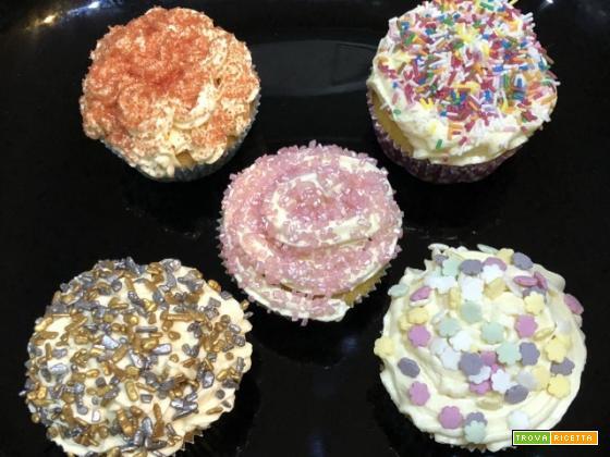 Cupcakes alla vaniglia con il CuCo Moulinex