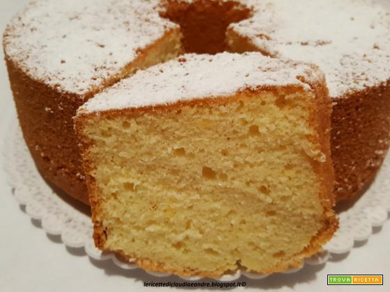 Chiffon cake vaniglia e latte condensato