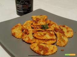 Panzerotti con ricotta e spinaci al ragù di carne