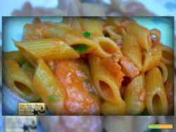 Pennette Al Salmone in Rosso Finger Food
