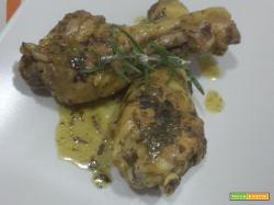 Coscette di pollo speziate