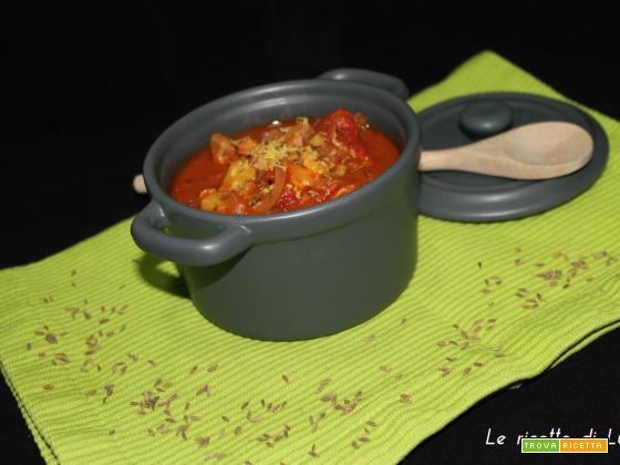 Gulasch di tacchino (zuppa)