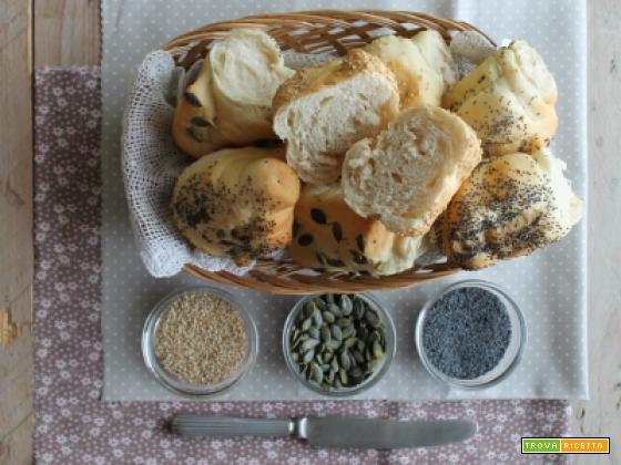 Panini al farro con semini