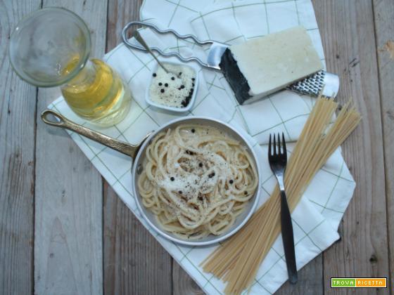 Cacio e pepe, una specialità della cucina romana tradizionale