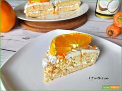 Torta Divina all'Arancia Cocco e Carote Gluten Free