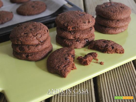 Biscotti orzo, avena e gocce di cioccolato