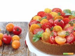 Cheesecake ai Pomodori multicolore