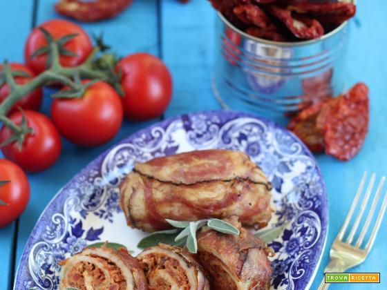 Girelle di Pollo e Pomodori secchi
