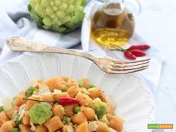 Gnocchi di semola al Curry Rosso e Broccolo Romanesco