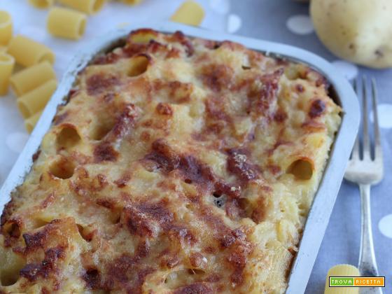 Pasta e Patate con la Provola di Lucia Melchiorre
