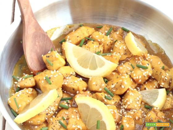 Pollo al Miele e Limone